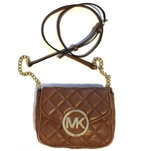 MICHAEL KORS Fulton Quilted Leather Crossbody